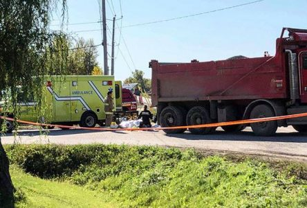 Sainte-Clotilde: grave accident de travail sur un chantier